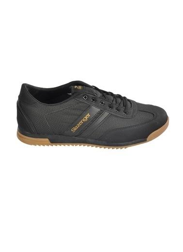 Slazenger Slazenger Aker I Sneaker Erkek Ayakkabı  Siyah